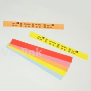 Zebra Media Z-Band Splash DT Wristband (for Desktop/Mid-Range) / Orange / 25mm x 254mm / 350 p/r [Box of 4 Rolls]