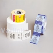 Zebra Media 8000D 10 Year Receipt DT Receipt (for Mobile printers) / 75.4mm x Continuous / 20.12Mtr p/r [Box of 30 Rolls]