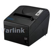SNBC BTP-R880NPII Thermal Receipt Printer [UK] / Black / Onboard USB/9F RS232 Serial/Ethernet Interfaces (incl PSU+P/Cord [UK] / USB+9F RS232 Serial Cables)