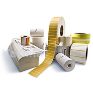 Honeywell Media Duratherm II Paper Label / 50.8mm x 25.4mm / 1760 p/r / 40mm Core/110mm Roll Dia [Sell in multiples of 24]
