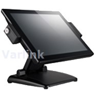 "DataVan G-615S 15"" PCT Touch LCD POS Terminal [UK] (Black) / POSReady 7 Emb x32 / Intel Celeron J1900 2.0GHz (Bay Trail-D) / 4GB (2x2) DDR3L / 128GB SSD"
