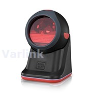 Syble XB-3080 Omnidirectional USB Scanner / Black/Red / Omnidirectional 1D Laser / Corded USB Interface / Corded USB 2M Cable