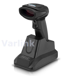 Syble XB-5066BT Cordless BT Scanner Kit [UK] / Black / 1D Laser / Bluetooth / Pistol Grip / Bluetooth Receiver/Charger (incl USB Cable / PSU [UK])