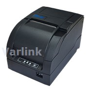 SNBC BTP-M300 Impact Receipt Printer [UK] / Black / USB (Onboard)/9F RS232 Serial/Ethernet Interfaces (incl USB A-USB A Cable)