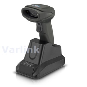 Syble XB-6266MBT Cordless BT Scanner Kit [UK] / Black / 2D Imager / Bluetooth / Pistol Grip / Bluetooth Receiver/Charger (incl USB Cable / PSU [UK])