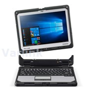 "Panasonic CF-33 MK1 12"" QHD AR IPS LCD DT Fully Rugged Toughbook / Win 10 Pro / Intel Core i5-7300U vPro / 8GB RAM / 256GB SSD (incl Battery [3 cell])"