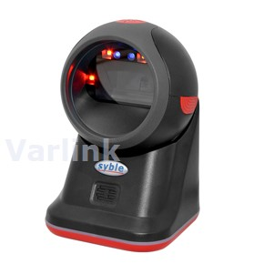 Syble XB-8608 Omnidirectional Scanner / Black / 2D CMOS Imager / Corded USB Interface / Corded USB 2M Cable
